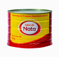 Manteiga Primeira Qualidade lata de 5kg com sal